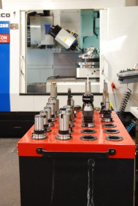 Tooling for 5-Axis Machining Center with Swivel Head